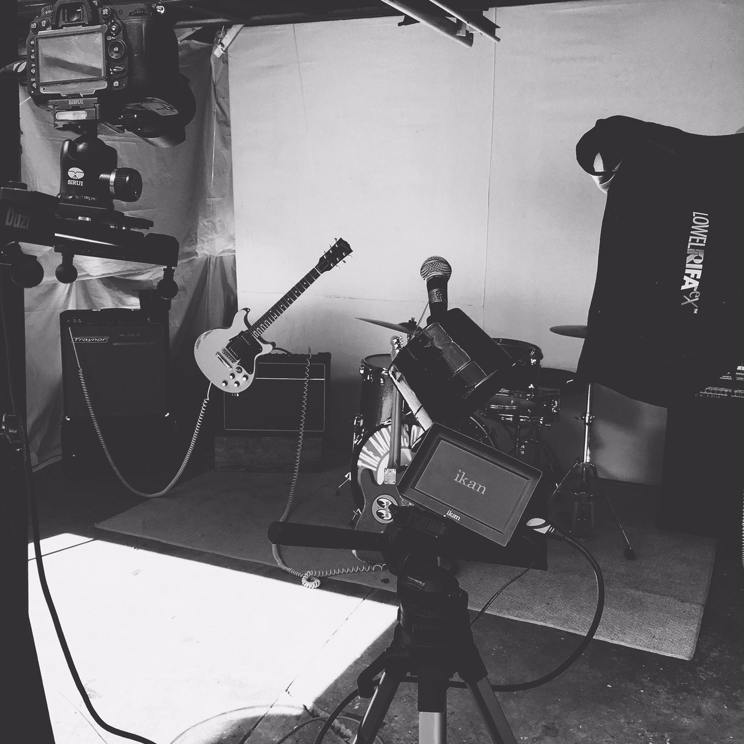 Anderson Council Video Production set photo