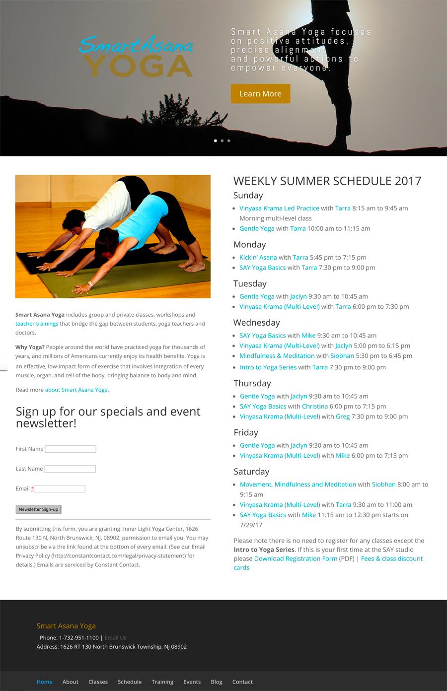 Active Lifestyle Professional Services Web Design NJ